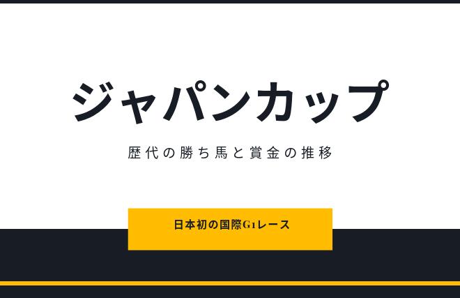 ジャンカップ 賞金 推移