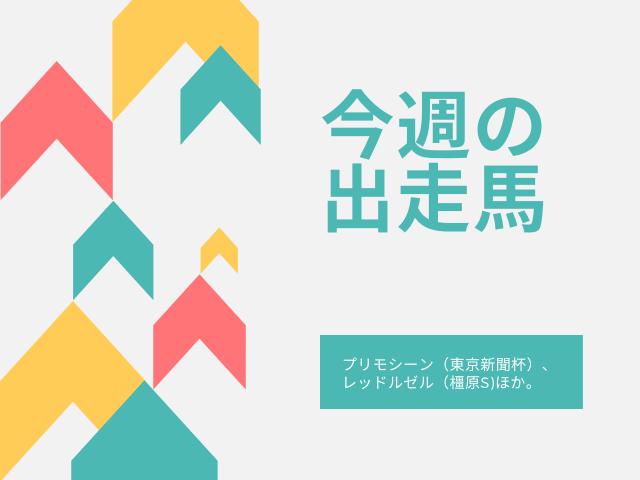 プリモシーン 東京新聞杯 レッドルゼル